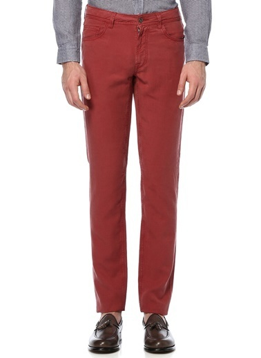 Beymen Collection Pantolon Bordo